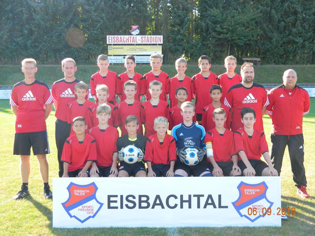 Sportfreunde Eisbachtal D1 (U13) Saison 2016/2017