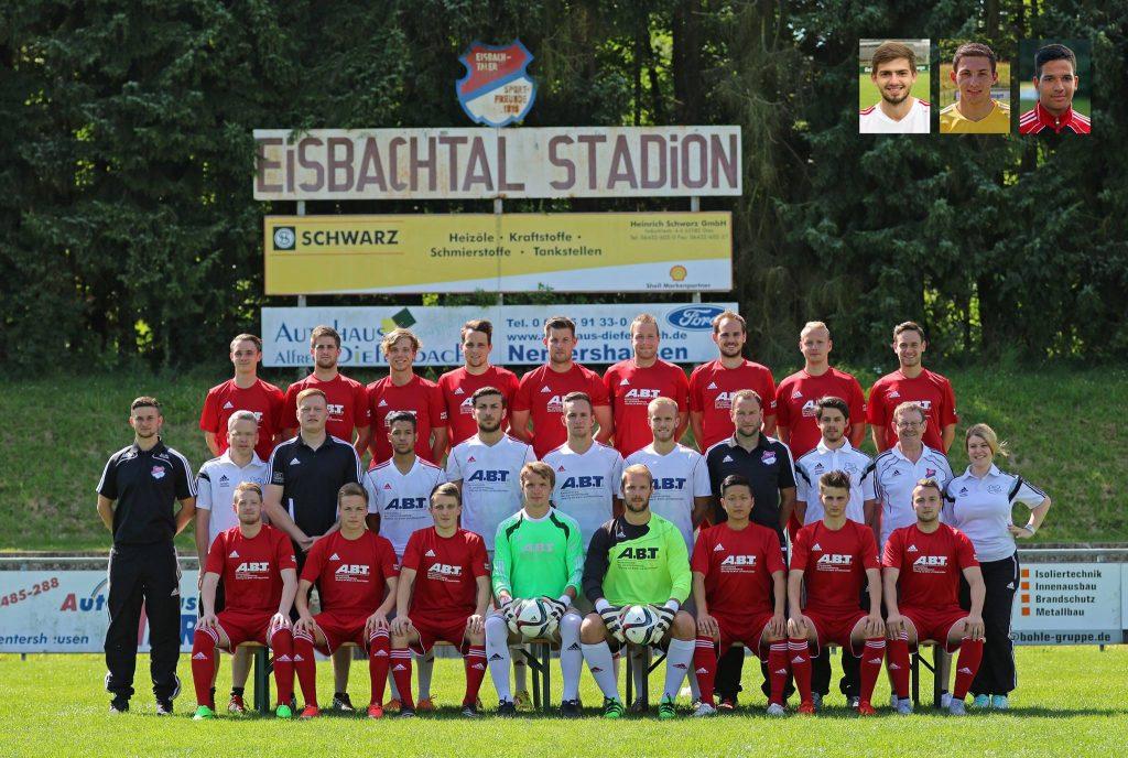 Erste Mannschaft, Sportfreunde Eisbachtal, Rheinlandliga Saison 2015/2016