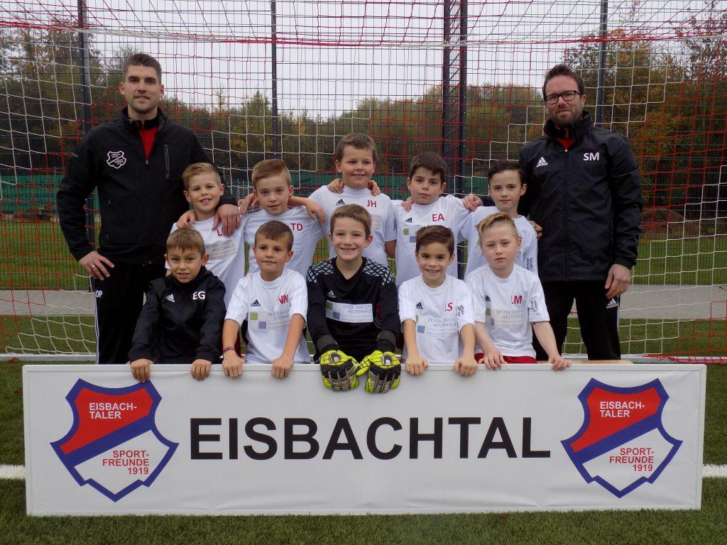 U9 der Eisbachtaler Sportfreunde Saison 2016/2017