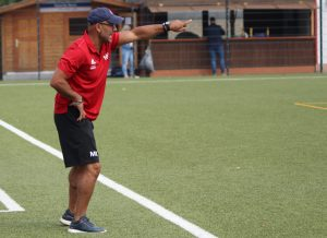 Trainer Metin Kilic gibt die Richtung vor