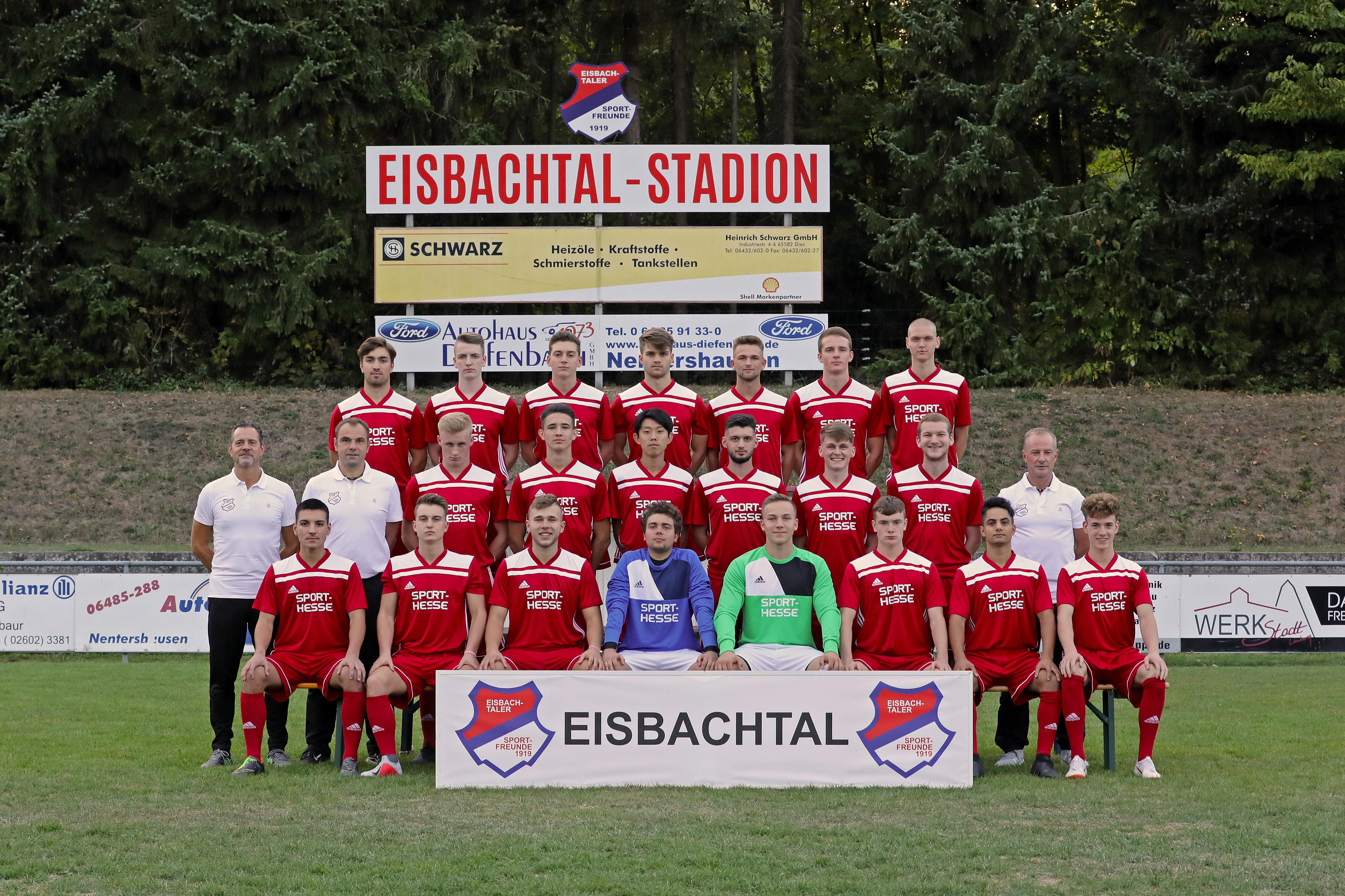 Sportfreunde-Eisbachtal, A1-Jugend (U19) Regionalliga Südwest Saison 2016/2017