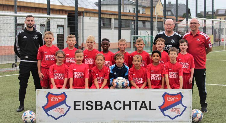 U10 Sportfreunde Eisbachtal 2021/2022